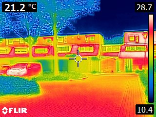 Thermografie bij gebouwen